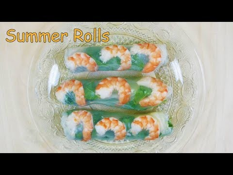 SUPER EASY Vietnamese Summer Roll (Gỏi cuốn) Recipe!