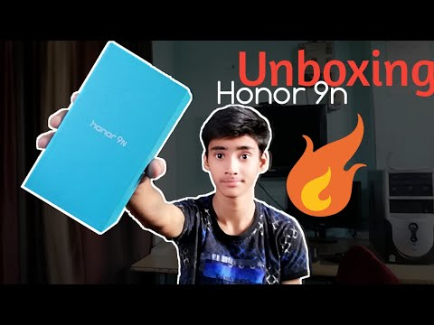 Unboxing Honor 9n with full notch display   overview   best budget smartphone?