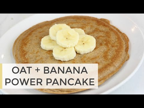 Protein Power Pancake Recipe | Easy Healthy Breakfast Idea