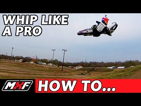 How to Whip a Dirt Bike - Lay it Flat in 3 Steps!!