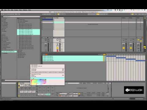 Garage Music Tutorial:  How to make a Drum Rack in Ableton // Part 3