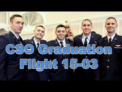 Air Force CSO Graduation (Flight 15-03)