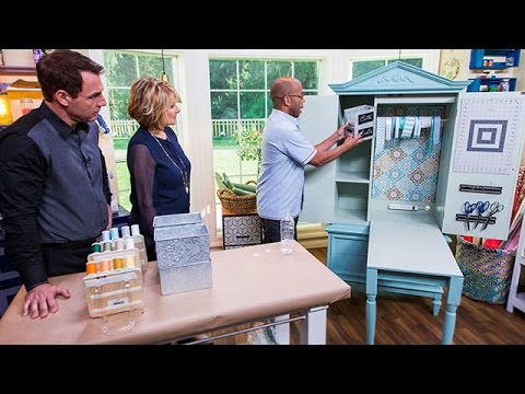Ken Wingard's DIY Craft Armoire - Pt 2