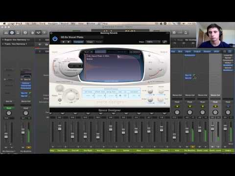 Logic Pro X Tutorial - Mixing Background Vocals #2