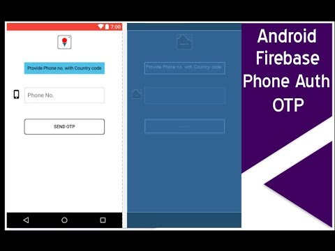 1-Android app development tutorial(Android firebase phone authentication)