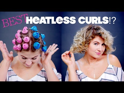 BEST or WORST Heatless Curls?! | Milabu