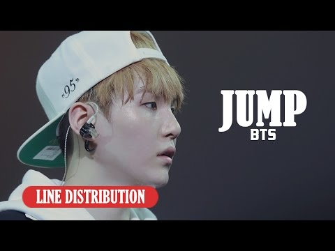 【Line Distribution】Jump - BTS