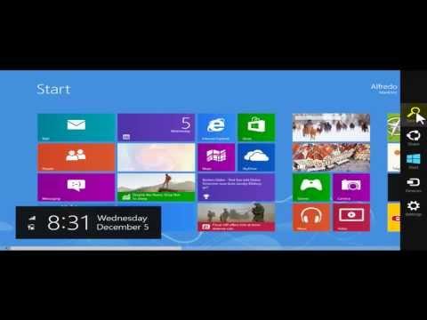 Day 1 Exploring Start Screen Mode-Desktop Mode Running IE 10 Desktop Mode-Windows Mode