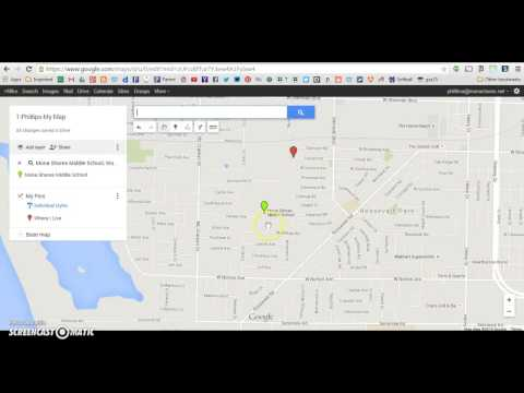 Adding Pins/Markers to your Google Map