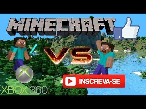 Minecraft: Machinima 1# Steve VS Steve Nova Série(Xbox)