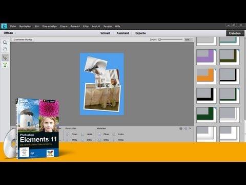 Photoshop Elements 11 - Mehrere Bilder zu einer Collage vereinen