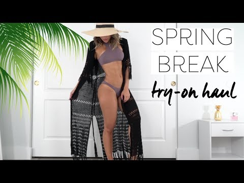 SPRING BREAK Try-On Haul w/ Hot Miami Styles
