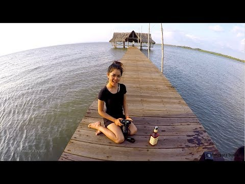 Snail Island Camping Trip 4 - Dinner at Koh Kyong and Camping on Kiosk in Koh Kong Province