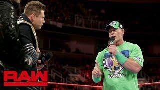 John Cena aims to put down The Beast at WrestleMania: Raw, Feb. 12, 2018