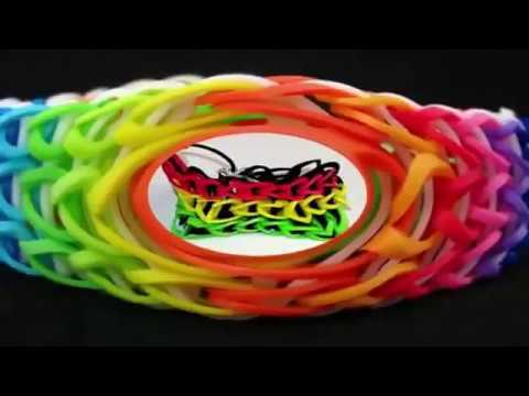 How to Make Rubber Band Bracelets with 2 Forks
