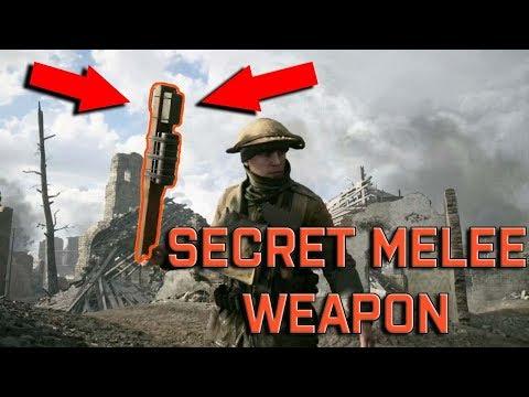 Battlefield 1 SECRET IMPROVISED GRENADE MELEE WEAPON! HOW TO EQUIP! ( Tutorial )