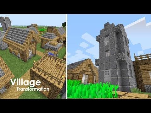 Minecraft Village Upgrade - Church