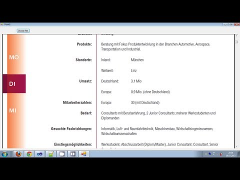 Visual C++ Tutorial 33 -Windows Forms Application: How to open and show a PDF file in the Form