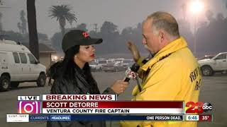 BREAKING: Live in Ventura County at the Thomas Fire