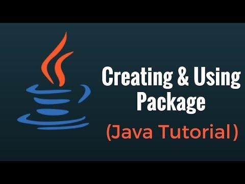 Creating & using Package - Java Programming Tutorial
