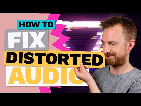 How To Fix Distorted Audio In Adobe Audition (Clipped Audio)