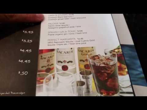 Norwegian Cruise Line Ultimate Beverage Package Bar Menu 2016 - Norwegian Gem Drink Menu