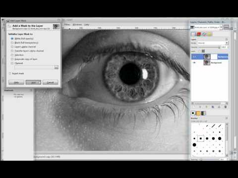 Color Selection (B&W & Color) GIMP 2
