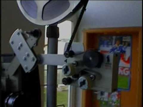 Bauer P8 T400 mit Film-O-Clean und Langlaufeinrichtung