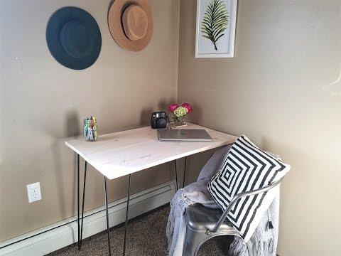 DIY - Clean Modern Desk