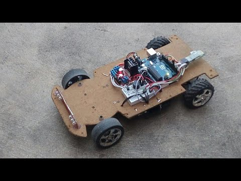 Arduino Bluetooth RC Car | Android controlled Fast RC car | Homemade RC Car | Electronic Projects