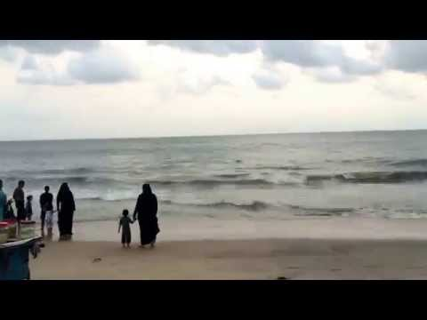 Time-lapse beach
