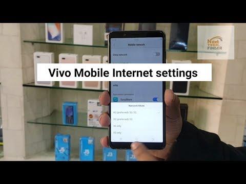 How to sim internet settings vivo mobile