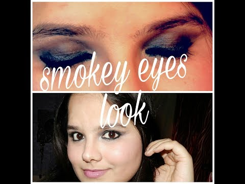 Smokey eyes look | all about skin and makeup