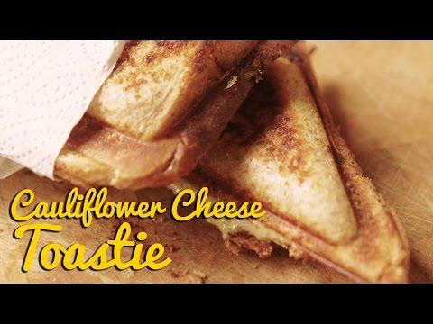 Cauliflower Cheese Toastie from Crumbs