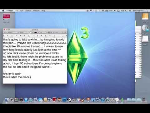 Download The Sims 3 for Free and Remove Unauthorized Message