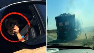 This 8-Year-Old Recorded the Video of Garbage Truck Fire