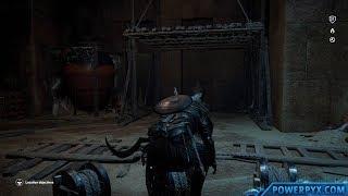 Assassin's Creed Origins - Tomb of Sneferu Walkthrough & Location (Pyramid of Sneferu Tomb)