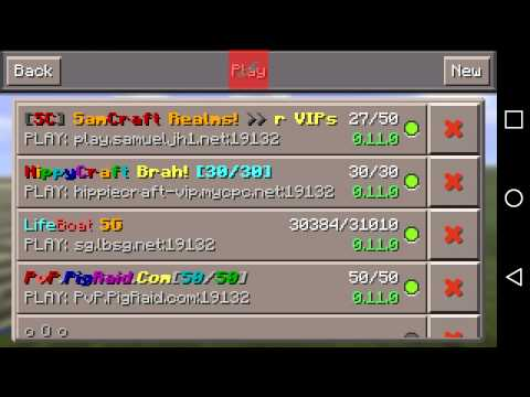 Minecraft pe how to join a server without Wi-Fi!!!