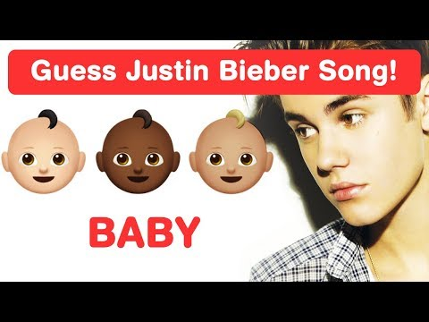 Justin Bieber Emoji Challenge! Guess Pop Songs