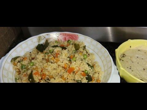 Foxtail Millet Upma (  திணை உப்புமா) by Mithila's Elite Kitchen.