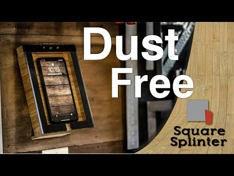Dust Free in the Shop with Simple Phone Protector | Quick Shop Projects