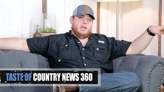Luke Combs Left Town Like a Hurricane - Taste of Country News 360