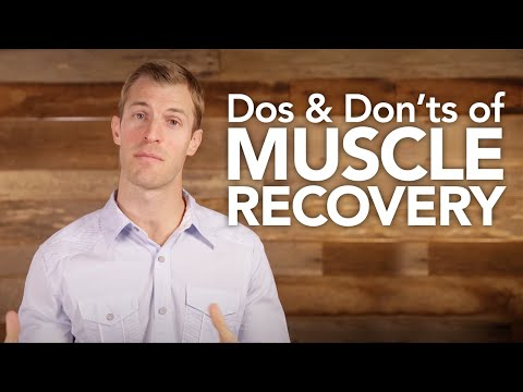 Dos and Don'ts of Muscle Recovery