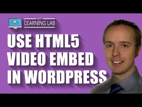 HTML5 Video Player WordPress - Free Embed Code With This Tutorial