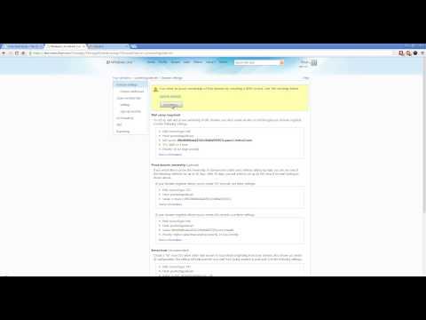 How to Setup Professional Email Address via Outlook.com