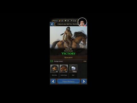 GOT: Conquest NEW Dothraki Gear!