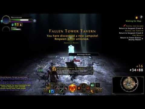 Fallen Tower Jumper - Neverwinter «Logro Escondido»