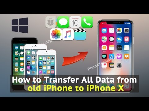 How to Transfer All Data from old iPhone to iPhone X