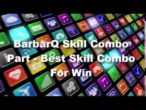 BarbarQ Skill Combo Part 2 - Best Skill Combo For Win And Get Master Evil