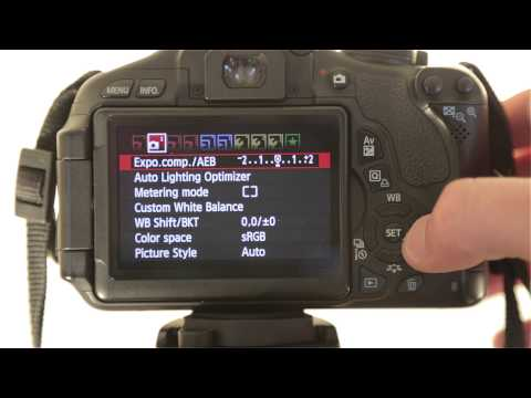How to Format the Memory Card on a Canon Rebel T2i / T3i / T4i / T5i EOS